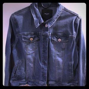Nine West jean jacket size large